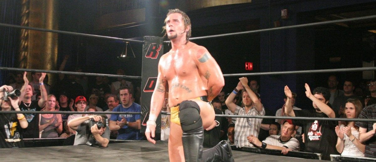 CM Punk in Ring of Honor