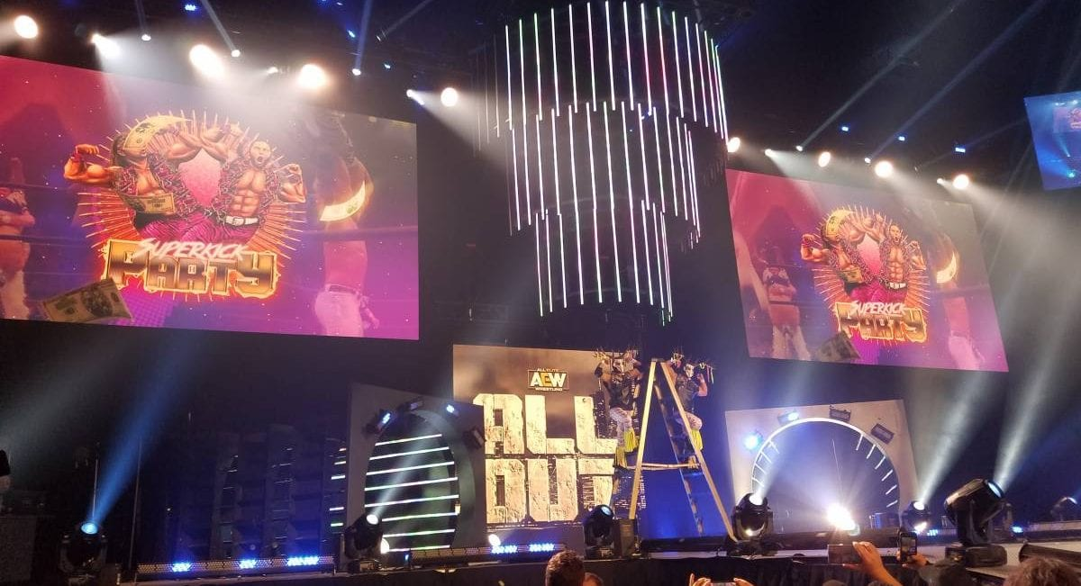 All Out AEW stage chicago