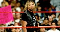 Brian Pillman standing mid ring taking in the crowd's reaction