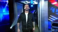 CM Punk walks Through The Doors And Onto The Set Of WWE Backstage