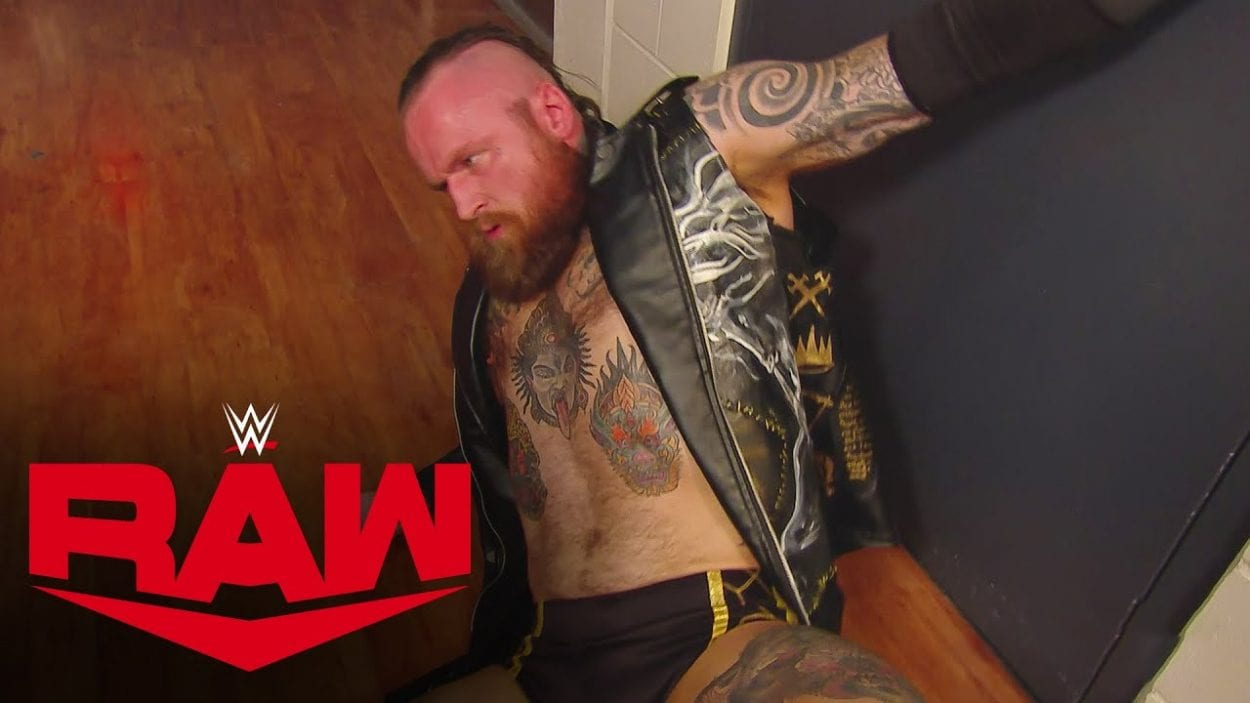 The OC Beat Up Aleister Black