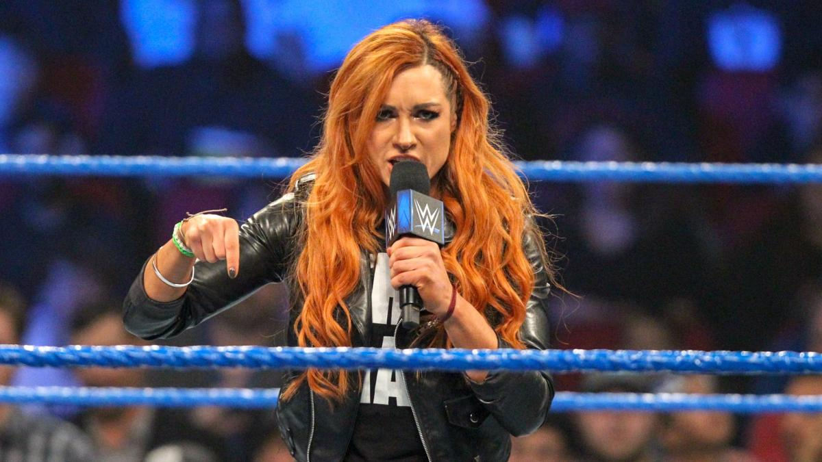 Becky Lynch Angry