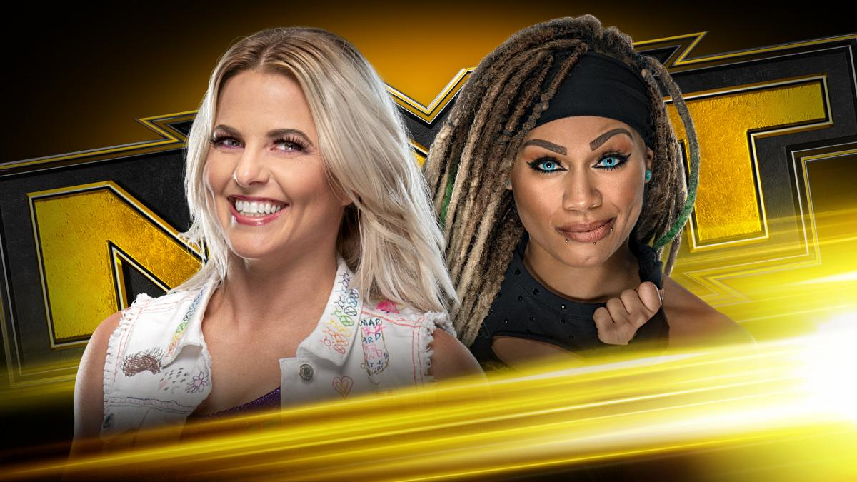 Candice LeRae took on Kayden Carter in this weeks edition of NXT.