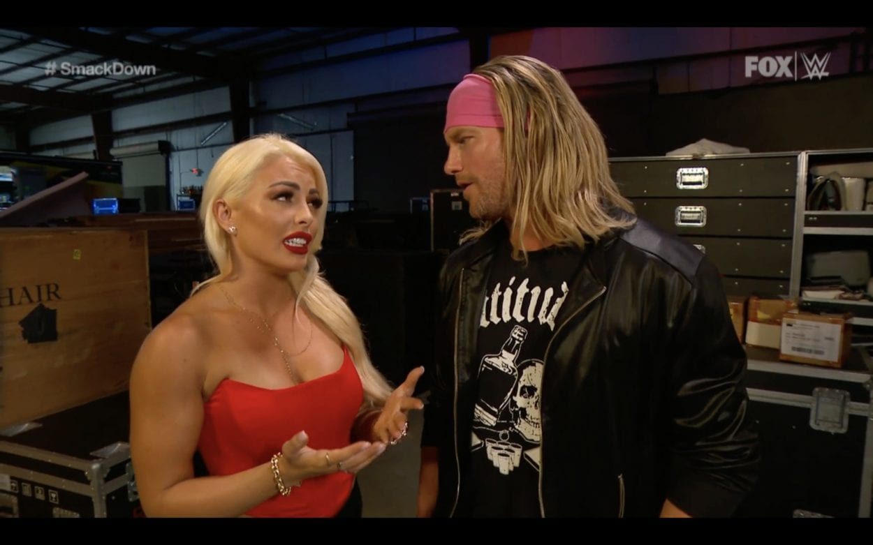 Mandy Rose and Dolph discuss the situation surrounding Otis