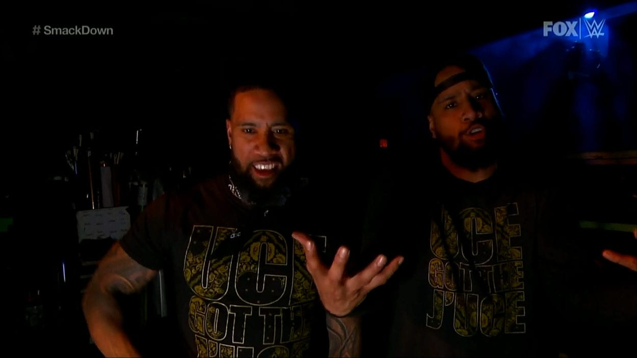 The Usos deliver a promise to defeat The New Day and reclaim the Tag-Team Chanpionships