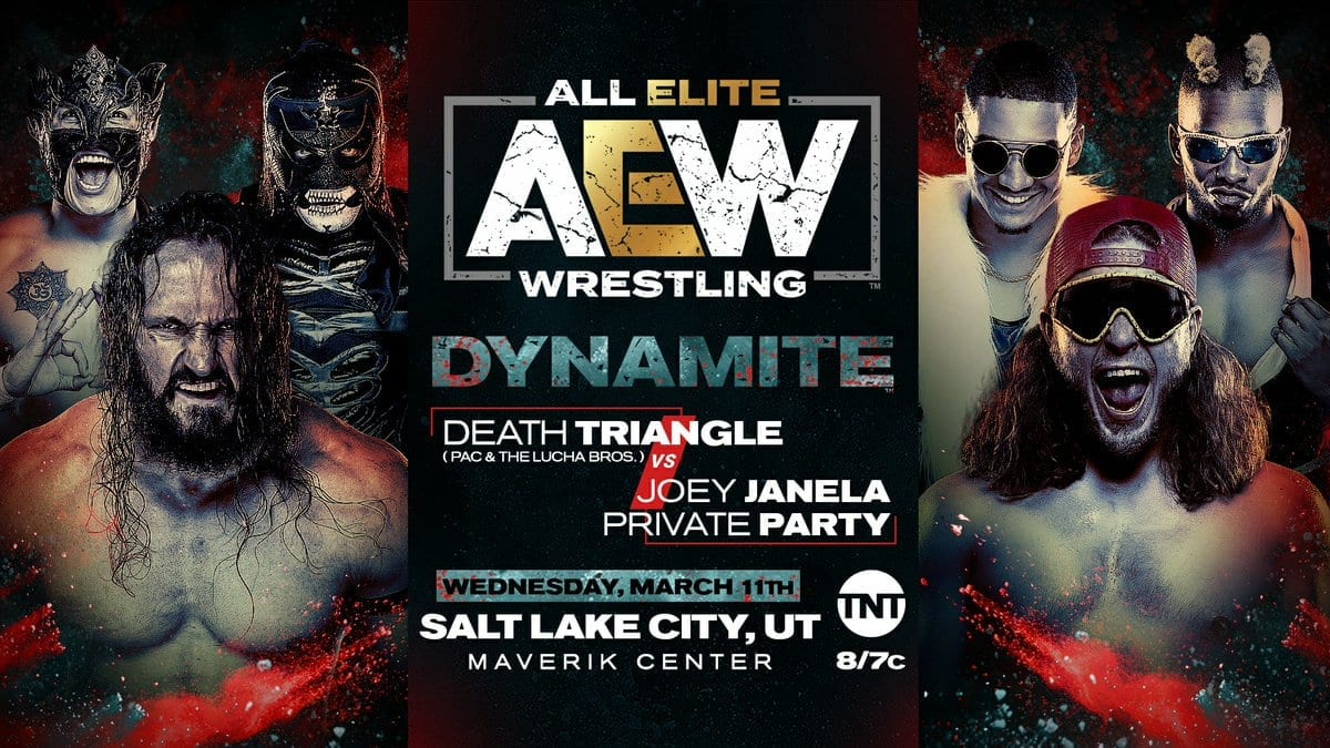 Death Triangle vs Joey Janela And Private Party