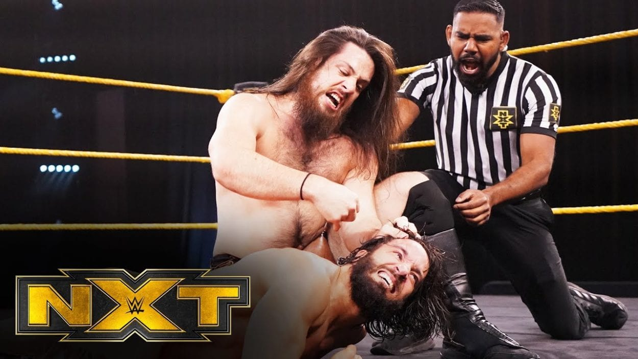 Cameron Grime and Tony Nese faced off in an epic battle.