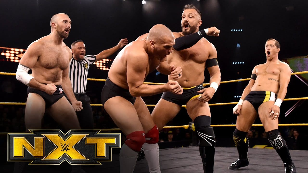 Kyle O'Reilly and Bobby Fish vs. Oney Lorcan and Danny Burch