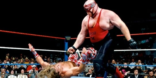 Shawn Michaels Buries Vader