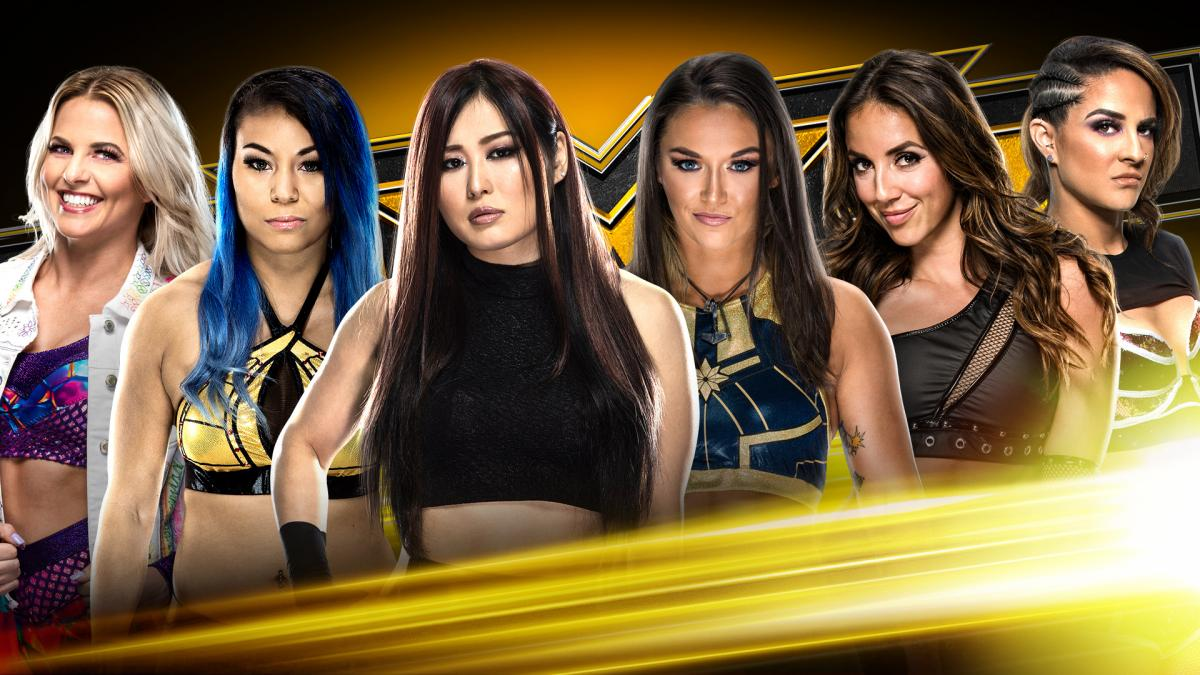 Ladder Match to determine No. 1 Contender for the NXT Women Championship
