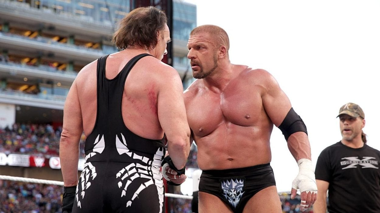 Triple H Buries Sting