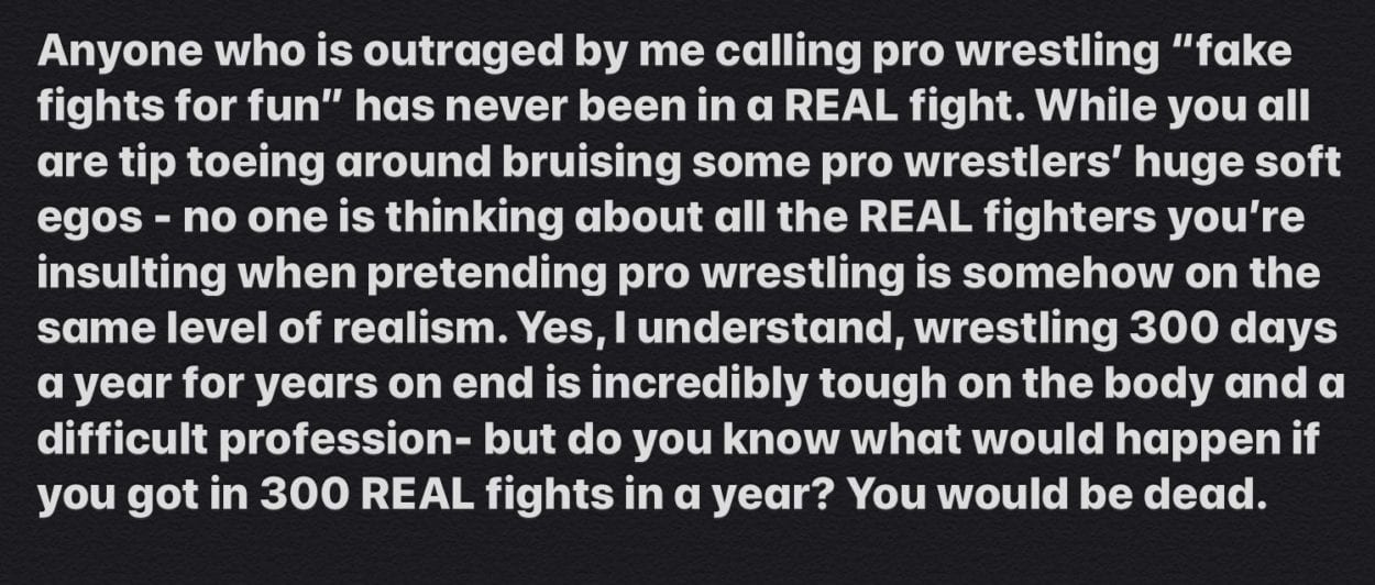 Ronnie Insults Everyone In Wrestling
