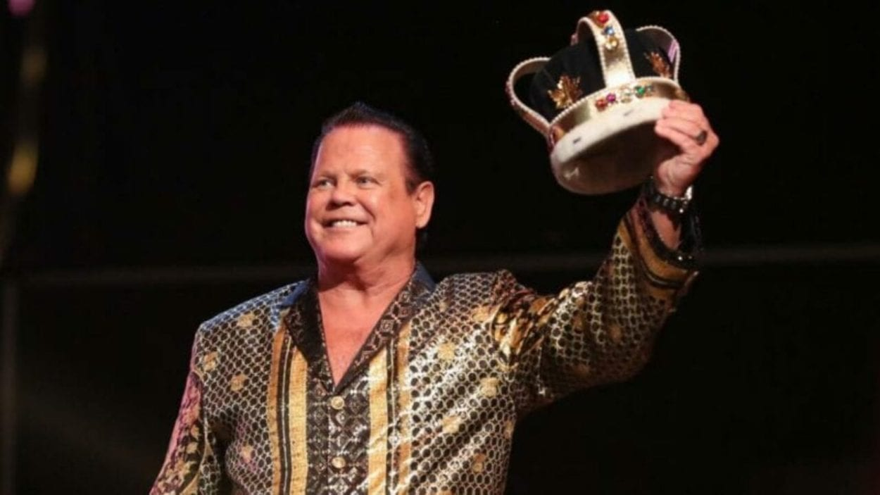 Jerry Lawler With Crown