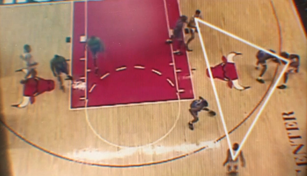 The Bulls triangle offense