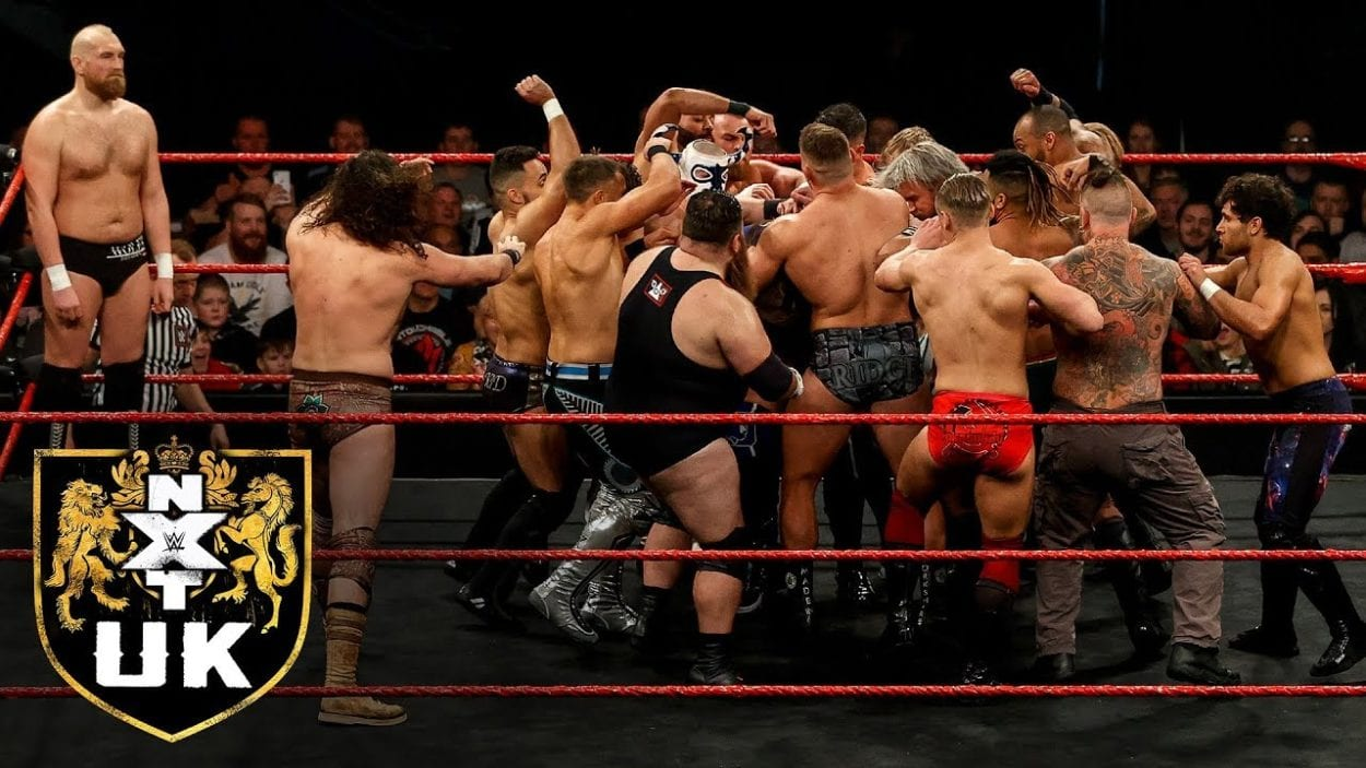 NXT UK Brawl