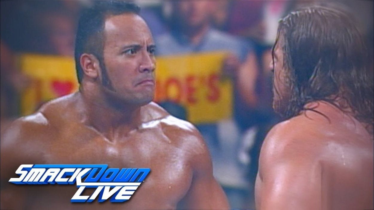 The Rock vs. Triple H