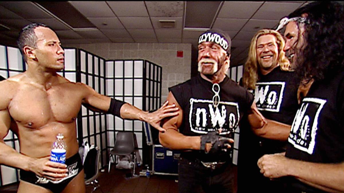 The Rock meets the NWO.