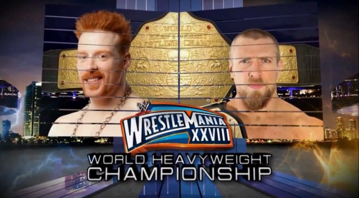 Sheamus vs. Daniel Bryan