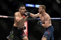 Gaethje stings Ferguson again with another heavy shot