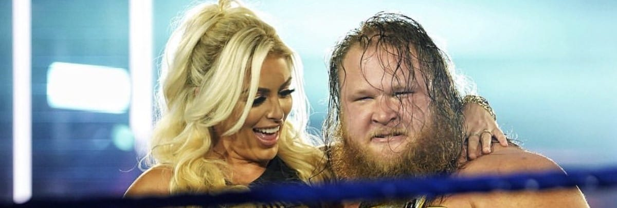 Otis with Mandy Rose
