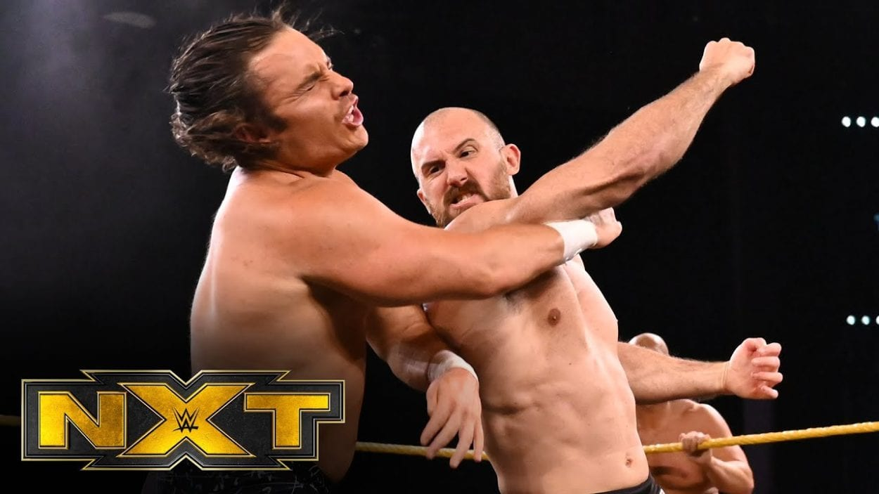 Oney Lorcan and Danny Birch on NXT.