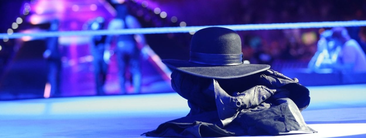 The Undertaker seemingly retired at WrestleMania.