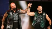Gallows and Anderson make the 'too sweet' sign
