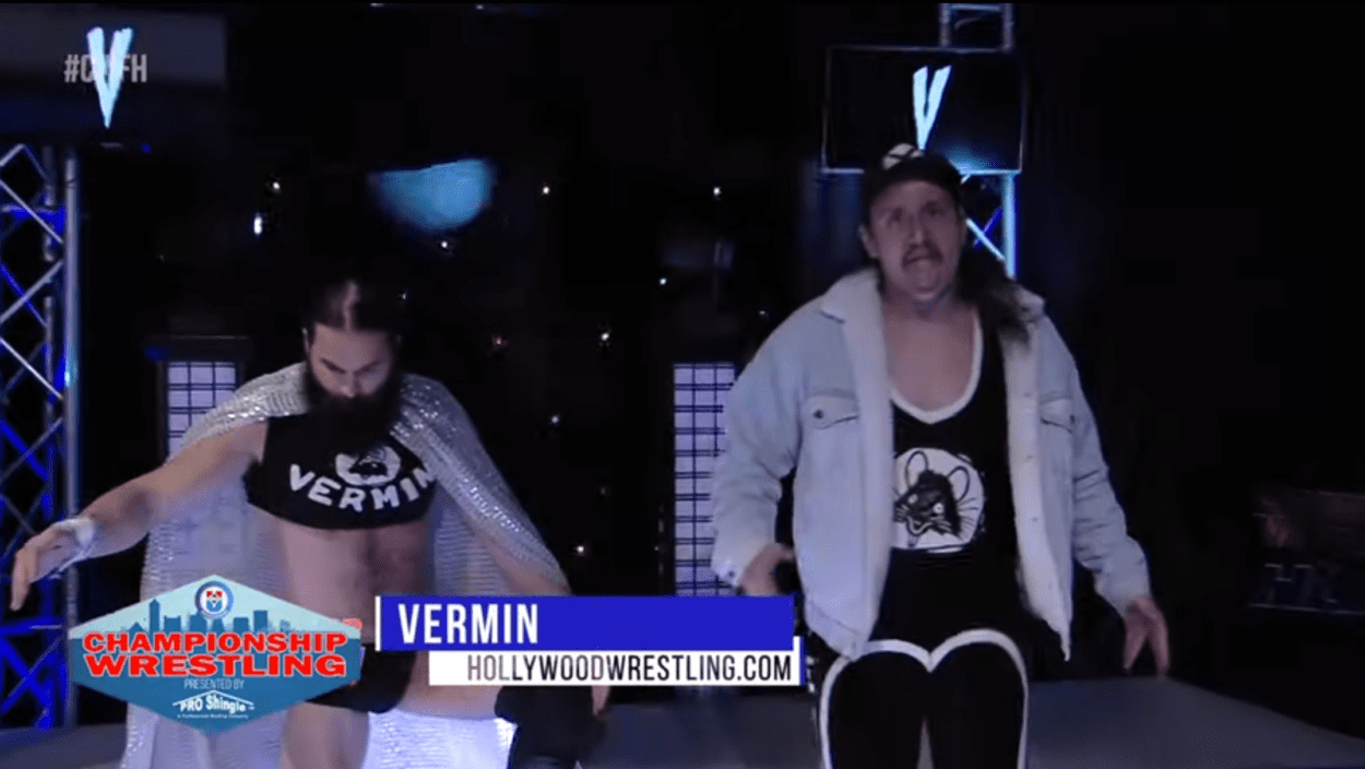 Vermin approach the ring