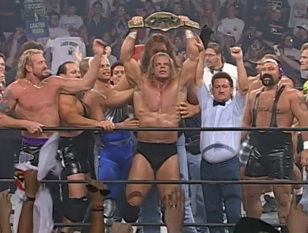 Luger wins the title
