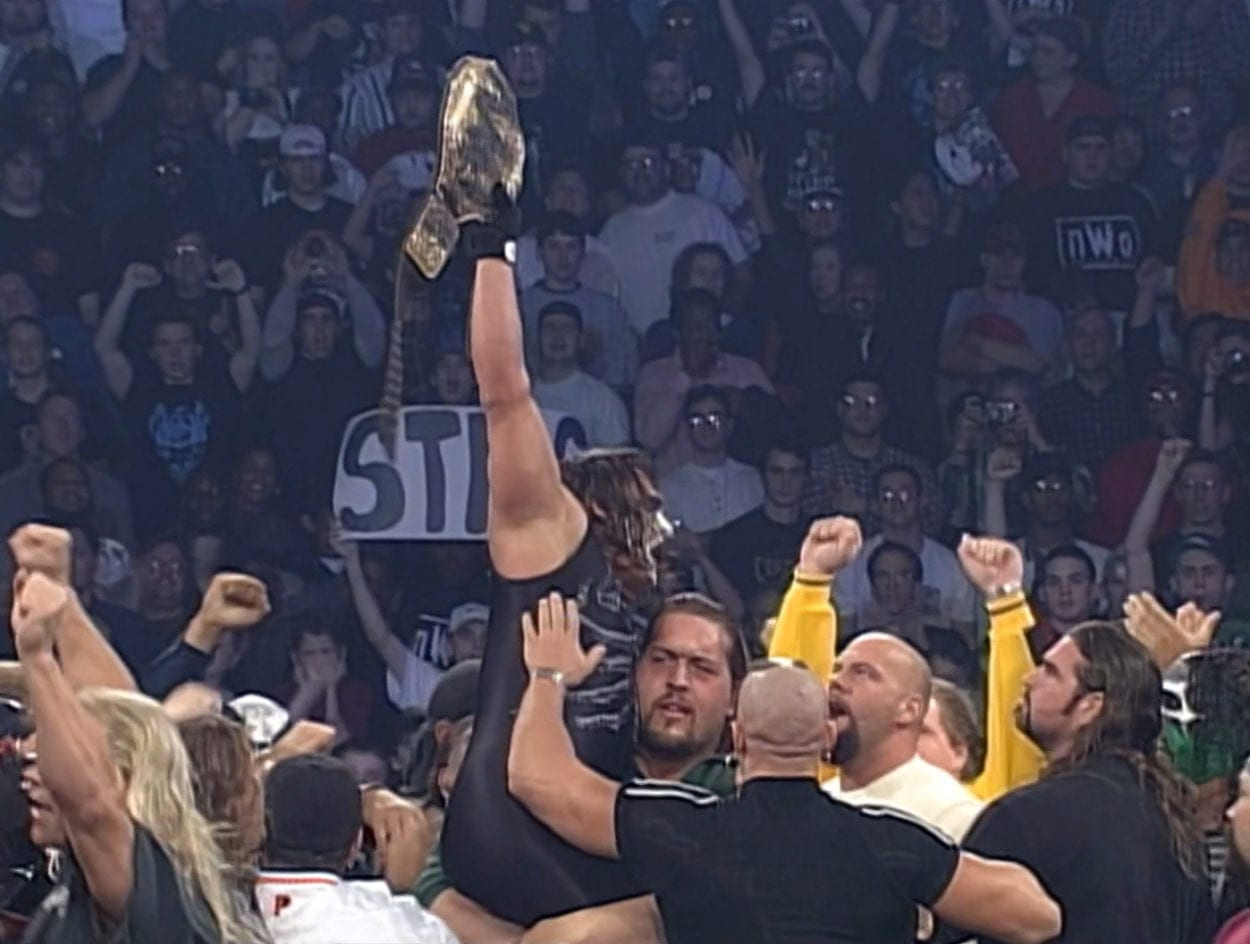 Sting wins the title