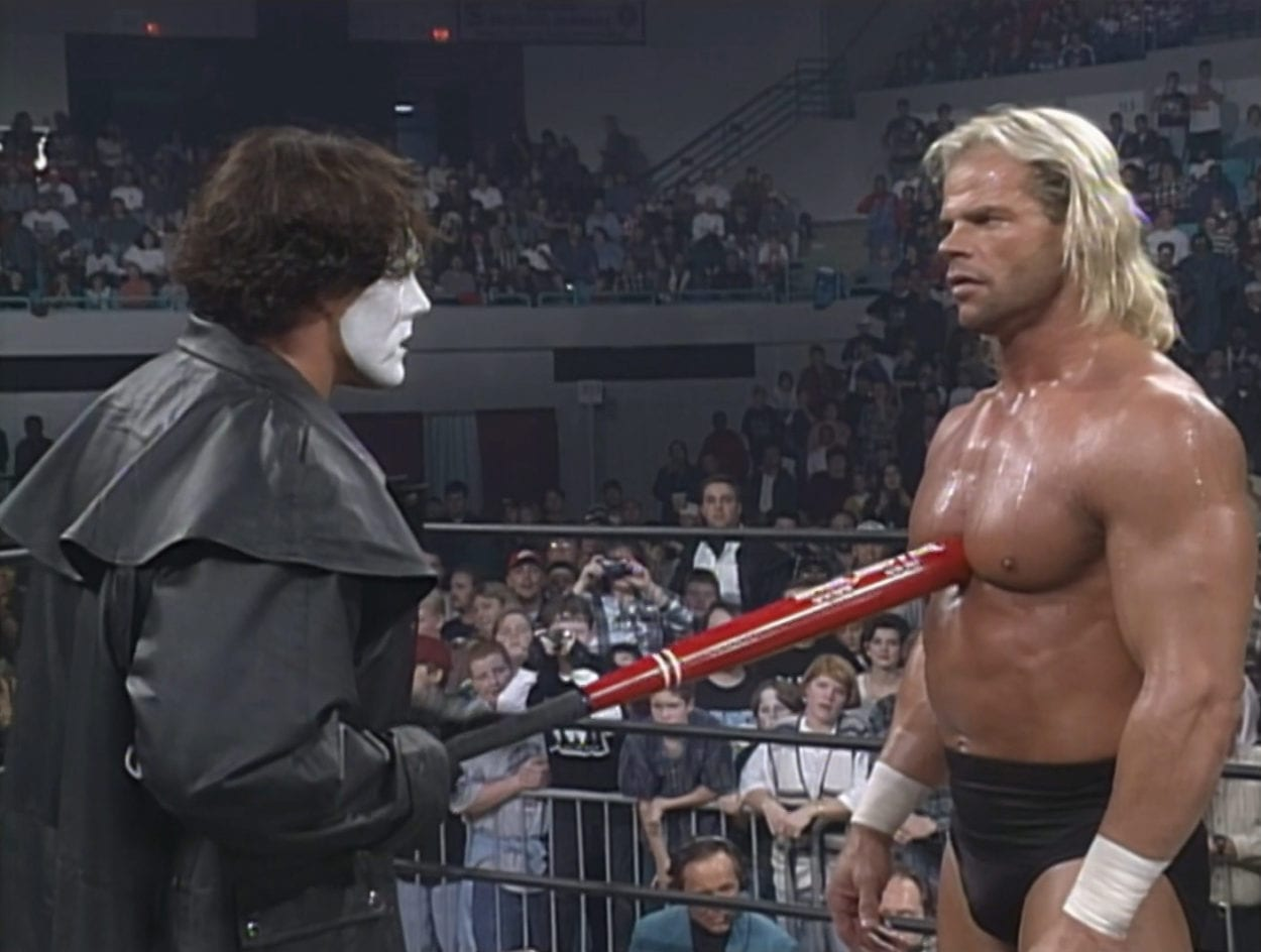 Sting confronts Luger