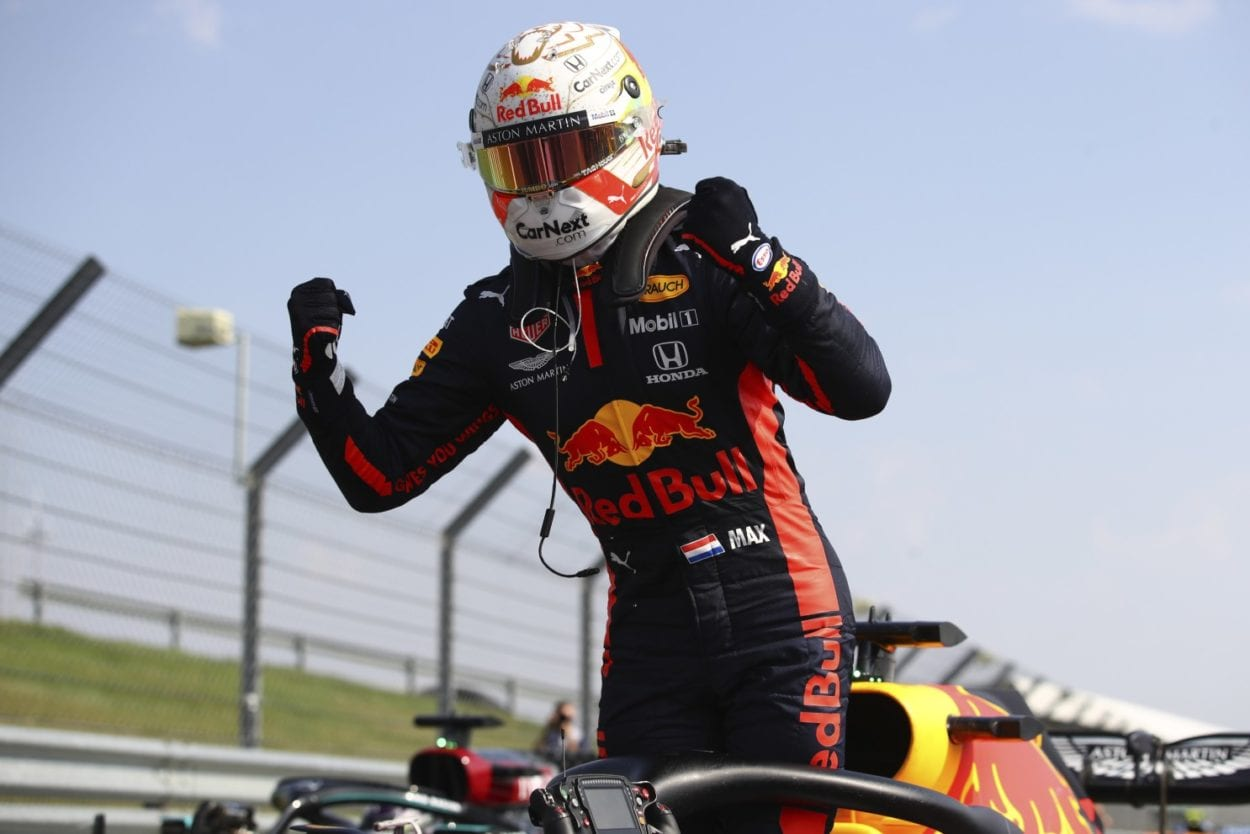 Verstappen Claims Surprise Victory at Silverstone