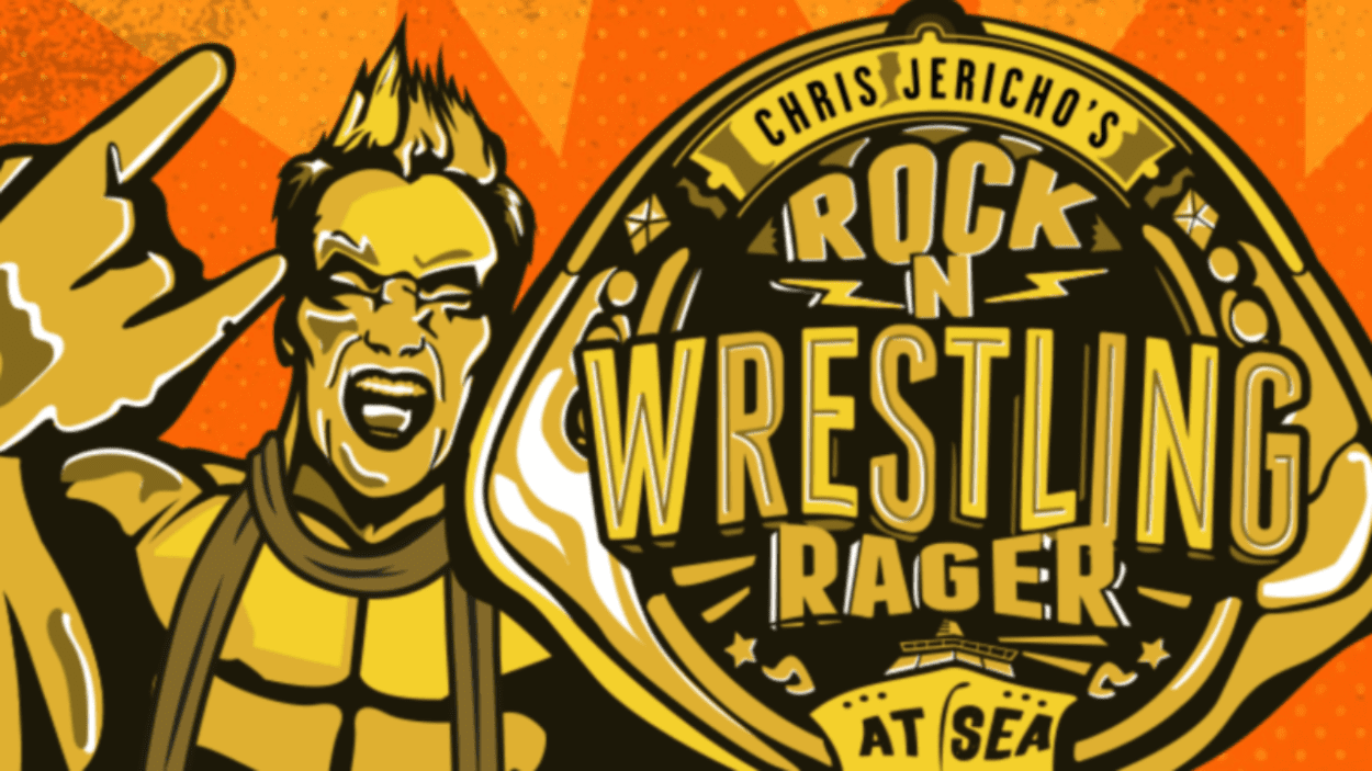 Chris Jericho Rock N Wrestling Rager At Sea logo