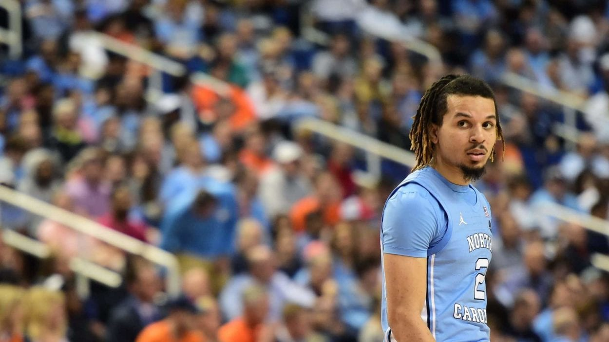 UNC guard Cole Anthony