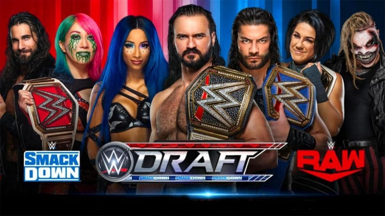 WWE Draft 2020 title card