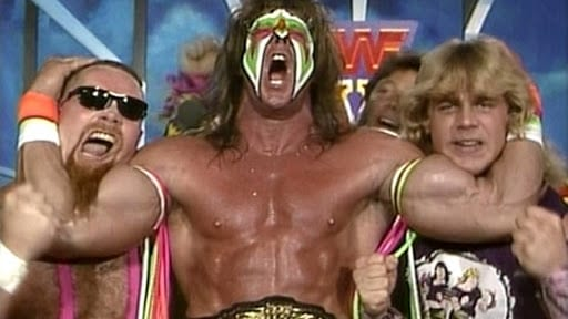 The Ultimate Warriors get pumped up at Survivor Series 1989