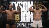 Mike Tyson and Roy Jones Jr. Weigh In