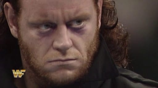 The Undertaker gets his glare on at Survivor Series 1990
