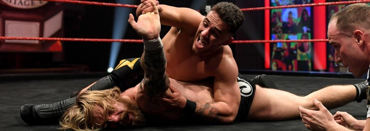 A-Kid Puts His NXT UK Heritage Cup On The Line
