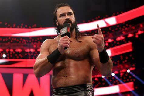 Drew McIntyre gets on the mic at Raw