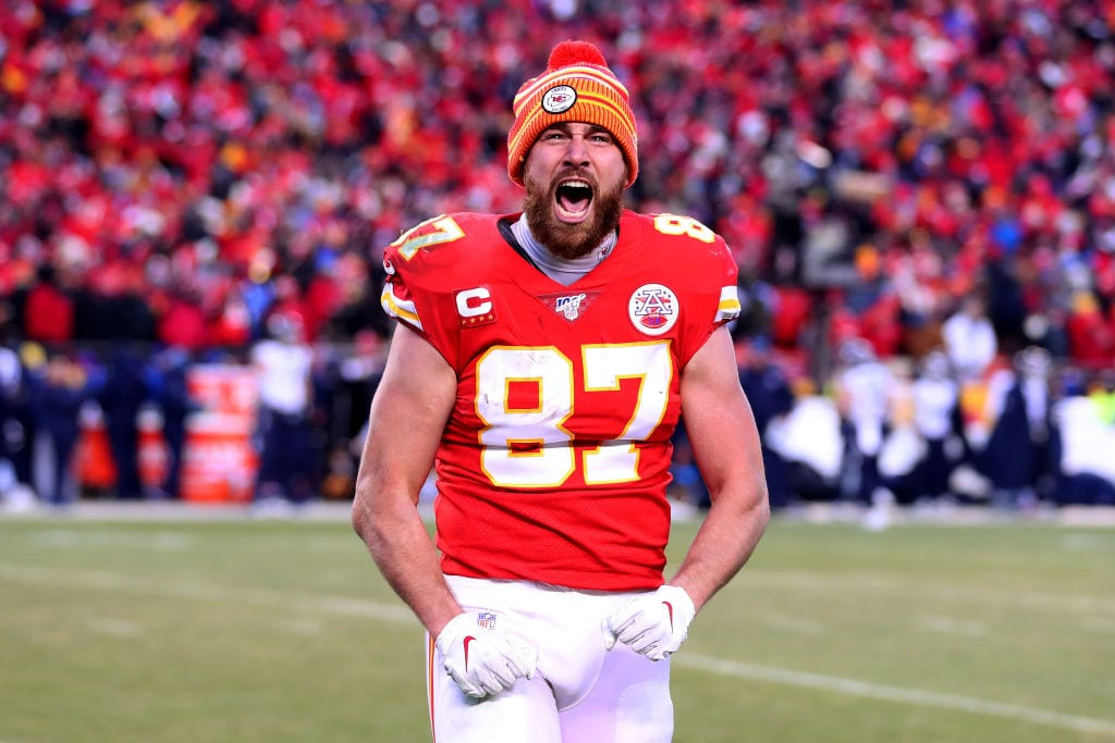 Tight End Travis Kelce AFC Championship game
