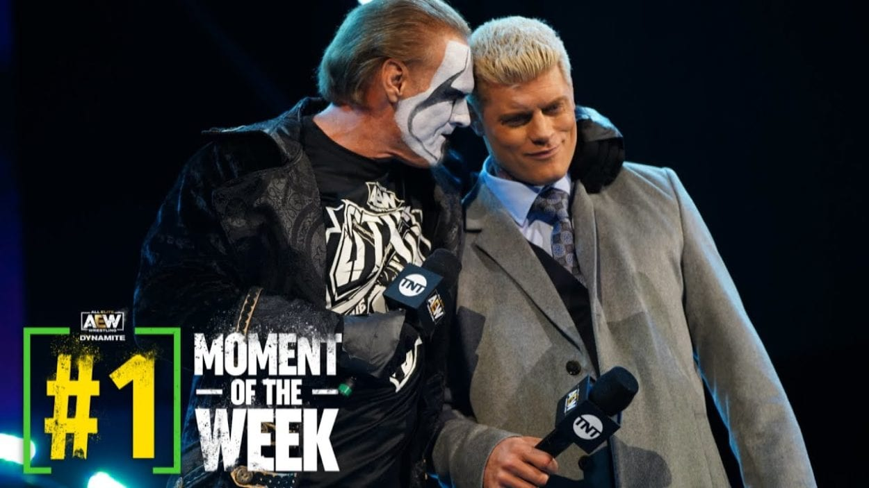 Sting and Cody