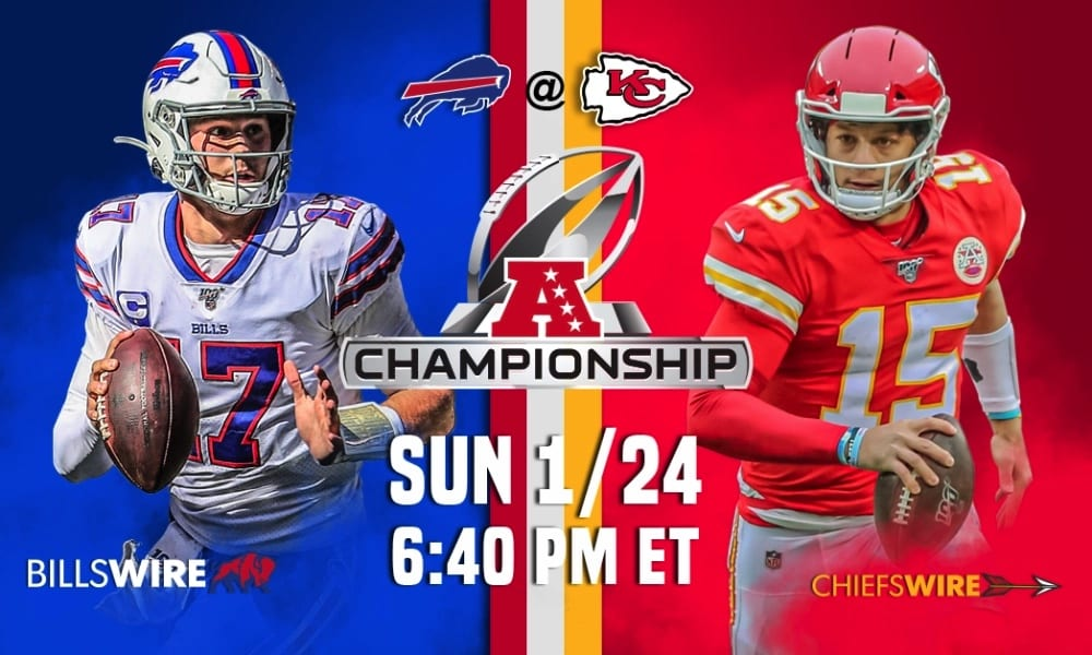 Buffalo Bills vs Kansas City Chiefs AFC Championship