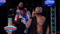 The Bodega (Danny Limelight and Papo Esco) make their entrance at Championship Wrestling