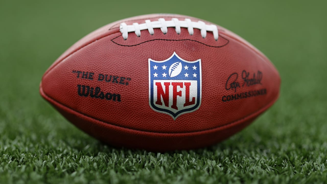 General View of an NFL Football