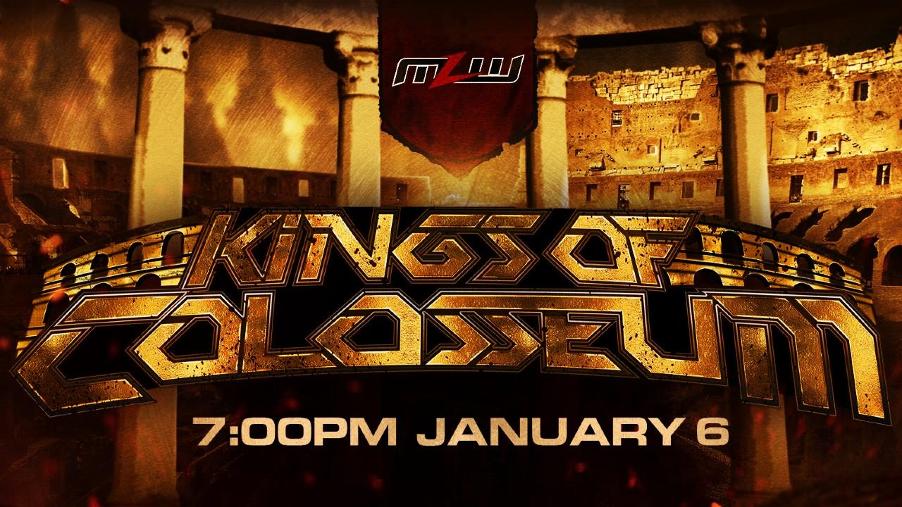 MLW Kings of Colosseum 2021 title card