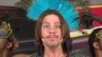 Dalton Castle prepares to cut a promo