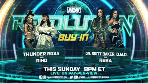 AEW Revolution but-in title card