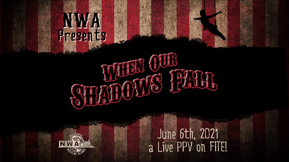 NWA When The Shadows Fall Fite advert