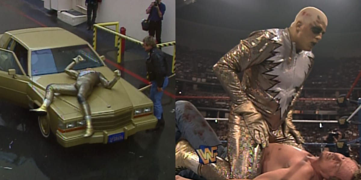 Goldust vs Piper WM 12